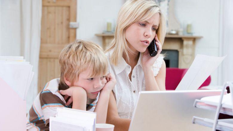 Воспитание ребенка и работа