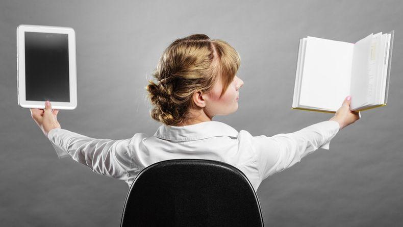 Электронные или бумажные книги — что лучше?